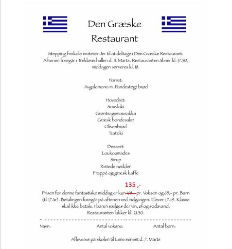 Græsk restaurant